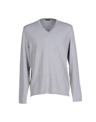 Bafy Knitwear Jumpers Men Light Grey
