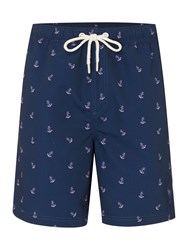 Howick Anchor Print Swim Short Navy