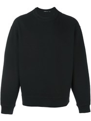 Alexander Wang T By Classic Sweatshirt Black