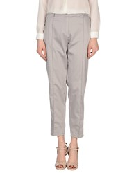 Clips More Trousers Casual Trousers Women Grey