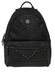 Mcm Medium M Moment Leather Backpack