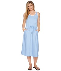 Columbia Reel Relaxed Dress White Cap Cherry Blossom Blue