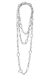 Women's Lagos 'Link' Mixed Link Long Necklace