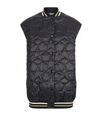 Stella Mccartney Star Quilted Gilet Female Blue