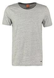 Boss Orange Twidget Basic Tshirt Light Pastel Grey Mottled Light Grey