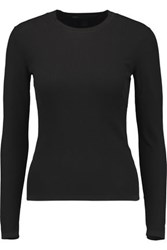Marc By Marc Jacobs Ribbed Knit Sweater Black