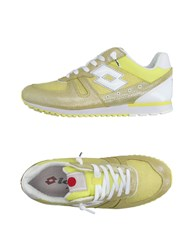 Lotto Leggenda Sneakers Yellow