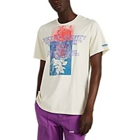 Ovadia And Sons Earth's Bounty Cotton T Shirt Cream
