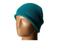 Celtek Slouchy Fur Emerald Beanies Green