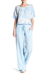 Tommy Bahama New Two Palms Linen Pant Blue