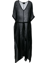 Lost And Found Ria Dunn Long Kaftan Dress Black