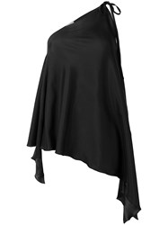 Danielapi Sleeveless Blouse Black