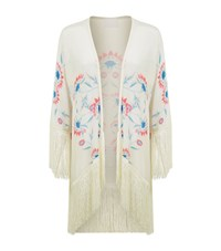 Athena Procopiou Flower Child Fringed Kimono Female Multi