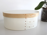 Large White Shaker Box By Ryan Quince Oen Shop