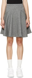 Kenzo Gray Fleece Circle Skirt