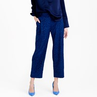 J.Crew Collection Cropped Pant In French Lace