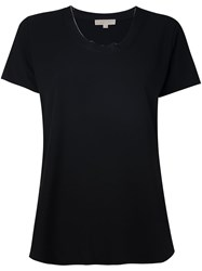 Michael Michael Kors Round Neck T Shirt Black