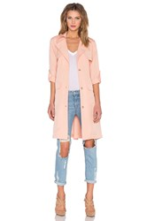 Lovers Friends X Revolve Midnight Run Coat Blush