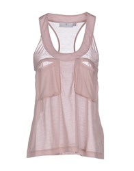 Adidas By Stella Mccartney Adidas By Stella Mccartney Topwear Vests Women Skin Color