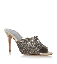 Gina Babette Jewelled Mules Female Gold