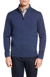 Tailorbyrd Men's Nisqually Quarter Zip Wool Sweater