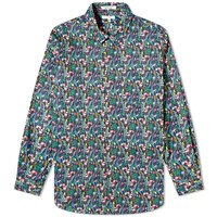 Engineered Garments Floral Short Collar Shirt Multi