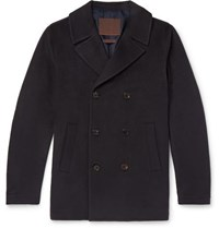 Altea Double Breasted Cashmere Peacoat Navy