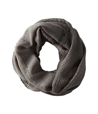 Hat Attack Textured Everyday Loop Charcoal Scarves Gray