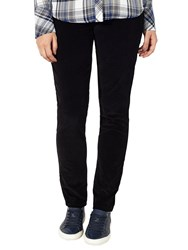John Lewis Collection Weekend By Skinny Cord Jeans Black