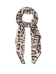 Givenchy Jaguar Print Scarf Animal