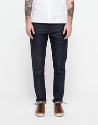 Han Kjobenhavn Tapered Fit Jeans Raw Dark Blue