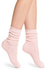Nordstrom Women's Pique Socks Light Pink