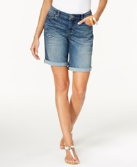 Styleandco. Style And Co. Petite Ripped Cuffed Shorts Only At Macy's Maui