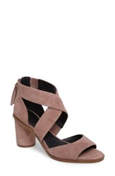Rebecca Minkoff Women's Leigh Sandal Berry Smoothie Suede