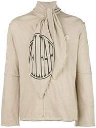 Telfar Scarf Collar Relaxed Fit Sweatshirt 60