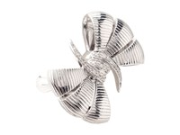 Stephen Webster Forget Me Knot Bow Ring Sterling Silver White Diamonds Ring