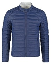 Serge Pariente Leman Down Jacket Blue White