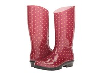 Columbia Rainey Tall Print Rocket Bling Women's Rain Boots Red