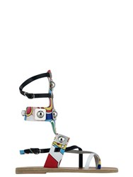 Ancient Greek Sandals With Peter Pilotto Low Gladiator Red