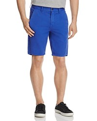 Rag And Bone Standard Issue Twill Regular Fit Shorts Bright Blue