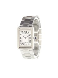 Cartier 'Tank Solo' Analog Watch Stainless Steel