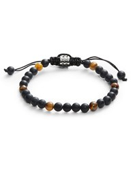 Zack Onyx And Tiger Eye Bracelet