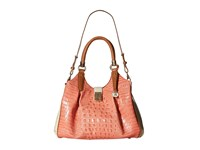 Brahmin Elisa Creamsicle Satchel Handbags Bone