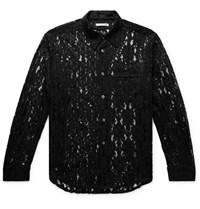 Our Legacy Policy Lace Shirt Black