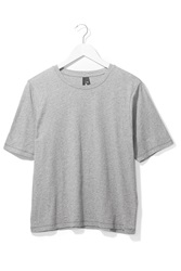 Boxy Jersey Tee By Boutique Grey