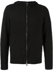 Salvatore Santoro Zip Up Hoodie Black