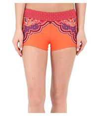 Prana Raya Bottom Neon Orange Jasmine Women's Swimwear