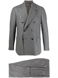 Gabriele Pasini Double Breasted Two Piece Suit Grey