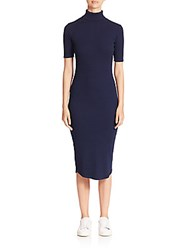 Ag Adriano Goldschmied Cylin Knit Dress Blue
