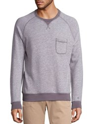 Orlebar Brown Bryan Cotton Jersey Sweatshirt Grey